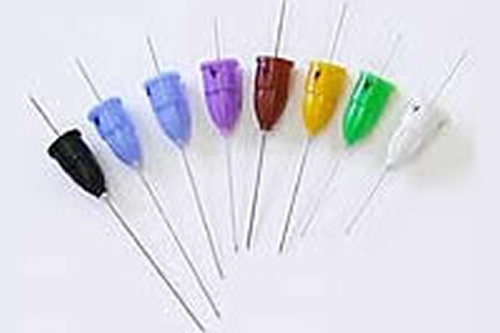 注射針は一番細い針